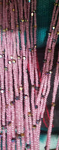 Load image into Gallery viewer, African waist beads Pretty in Pink