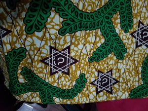 African Print/Ankara/(Green)2yds for  $12