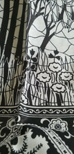 "Load image into Gallery viewer, Black Abd And White AFRICAN PRINT 2yds×46""~$12"