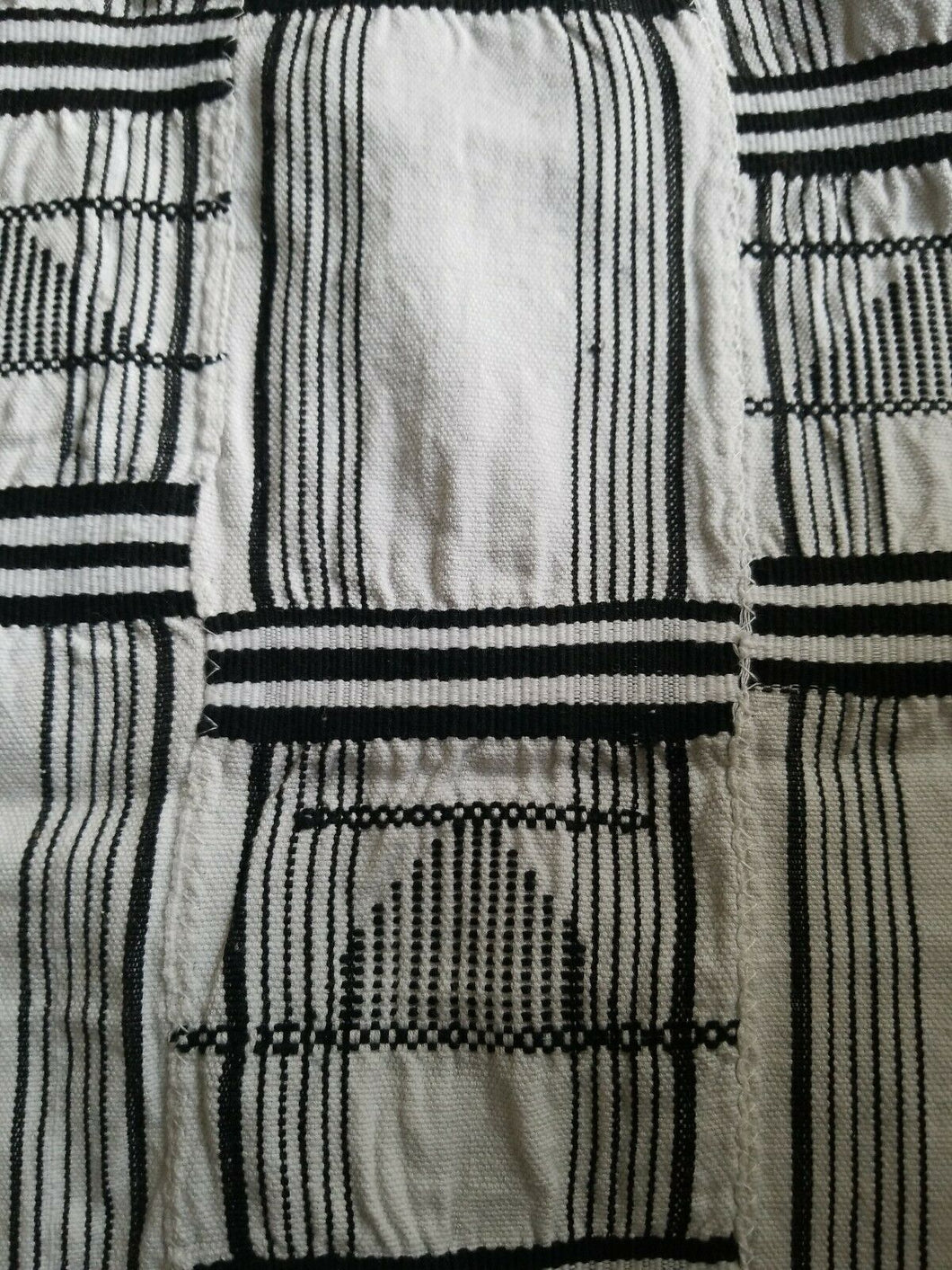Black And White Kente/Ewe ~Ghana 62