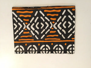 african print face mask and head wrap Set