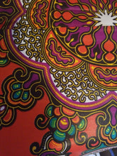 Load image into Gallery viewer, MULTICOLOR African Wax Print 100% Cotton Fabric 6yds ~ $35