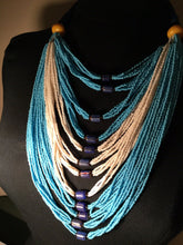 Load image into Gallery viewer, Mali Multi Strand Necklace