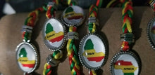 Load image into Gallery viewer, Rasta Braided Bracelet -   Bracelets/Anklets - New $3.50 each