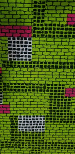 MULTICOLOR African Wax Print 100% Cotton Fabric 3yrds ×(44 in.) ~$16