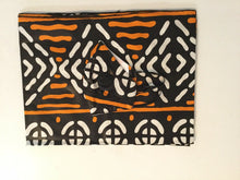 Load image into Gallery viewer, african print face mask and head wrap Set