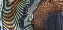 "Load image into Gallery viewer, Mustard multi African Print 100% Cotton Fabric ~Fabric 70""(1yd&34"")×45""~$10"