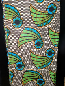 Ankara Wax Print Fabric 6 Yards Max Available -$5per yard