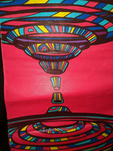Load image into Gallery viewer, MULTICOLOR African Wax Print 100% Cotton Fabric (44 in.)