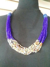 Load image into Gallery viewer, Zulu Jewelry multi stranded necklace