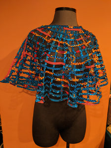 African print capette