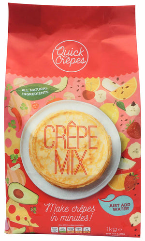 1kg bag of Quick Crepes mix