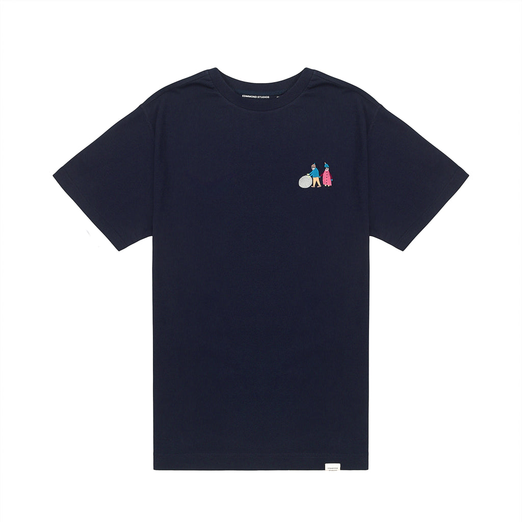 Edmmond Studios Elderly Tee - Navy