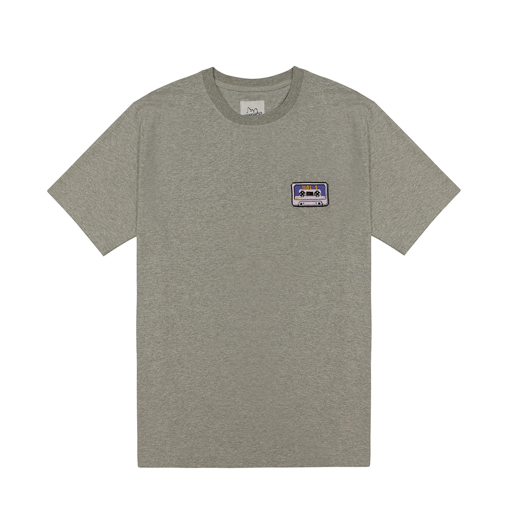 Bricktown Cassette Tape Embroidered Tee