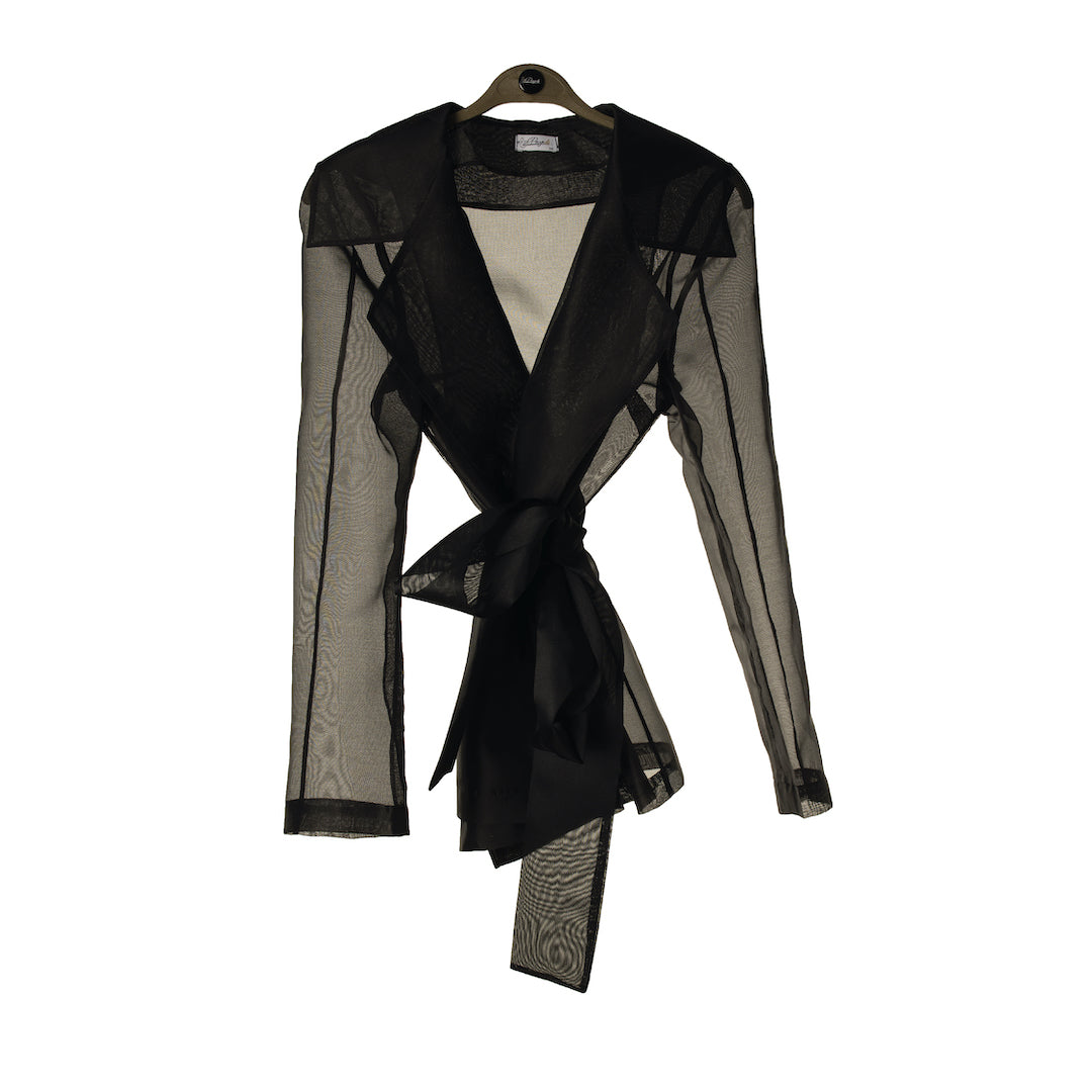 Black Organza Jacket