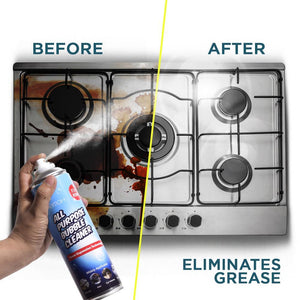 ALL-PURPOSE BUBBLE GREASE CLEANER