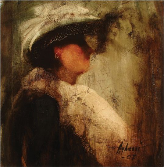 Woman with a White Hat