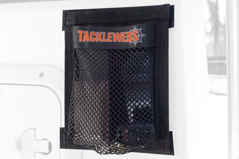 "7"" Wide x 9"" High Hook & Loop TackleWebs® Black"