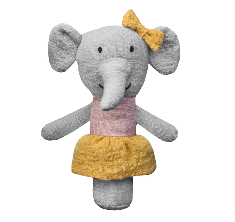 Effie the Elephant Rattle
