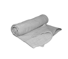 Load image into Gallery viewer, Grey Muslin Wrap