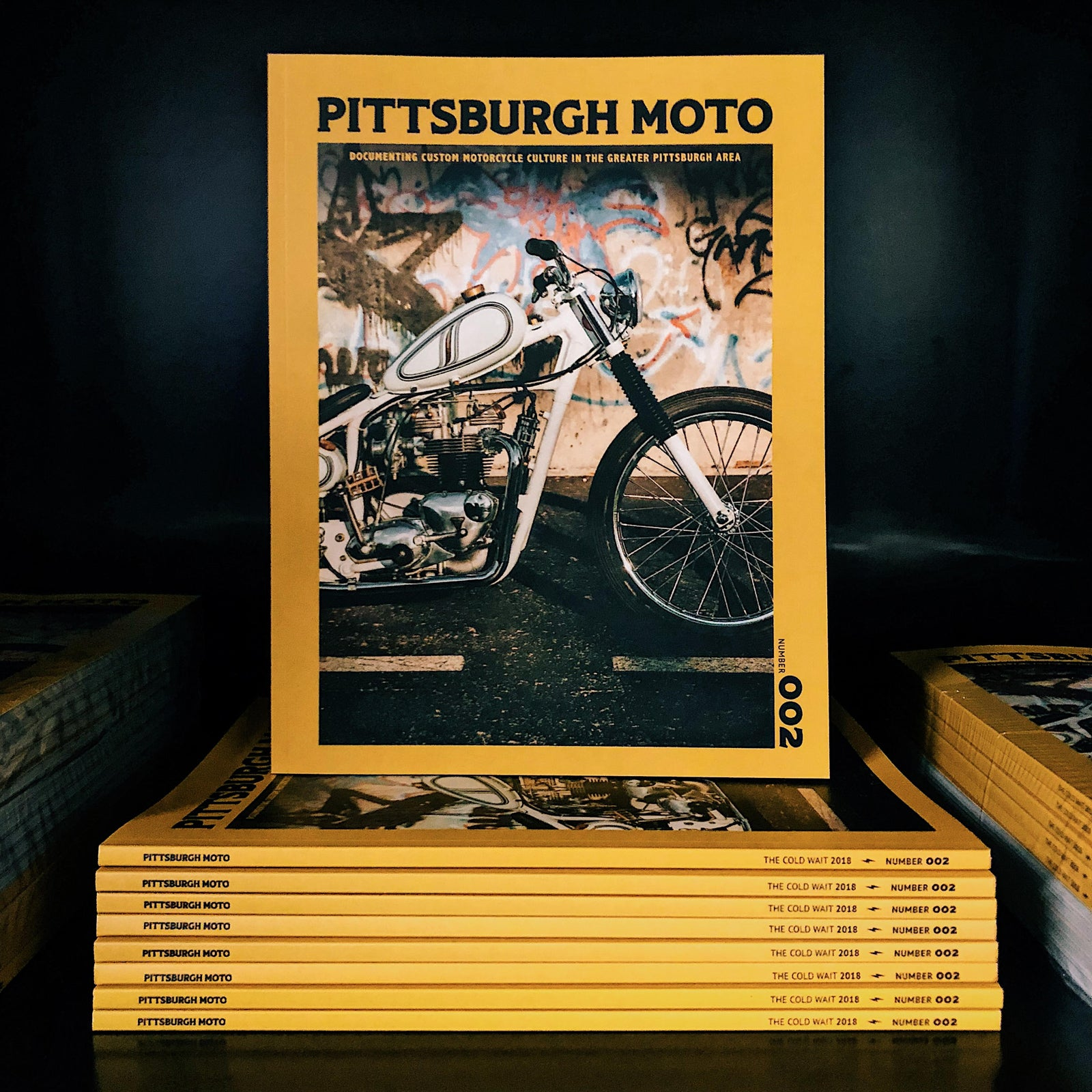 Kurt Diserio Pittsburgh Moto Magazine Publication