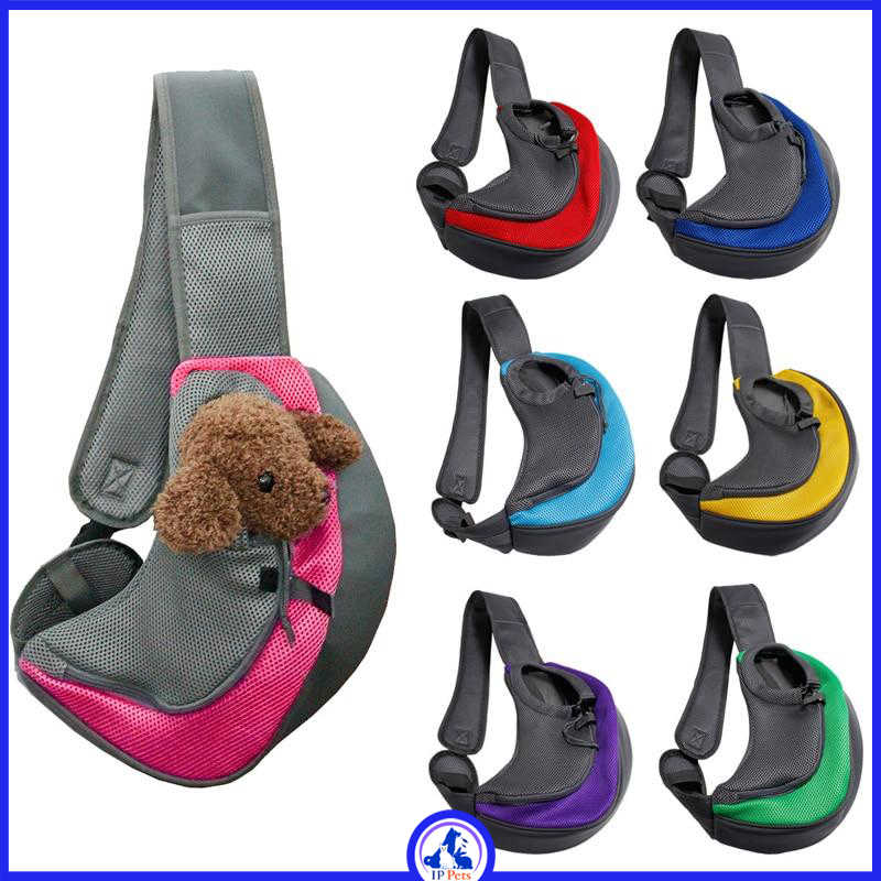 Small shoulder bag for carrying pets ippets
