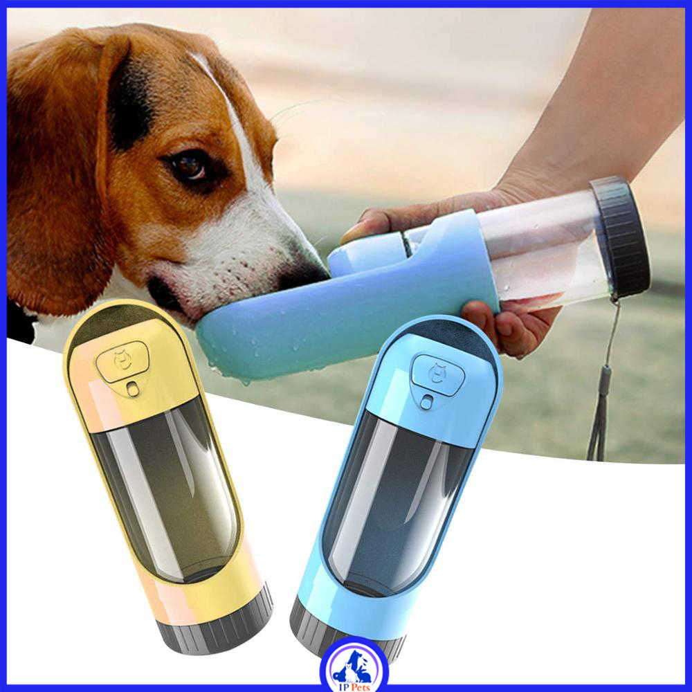 Portable drinking water bottle for dogs ippets