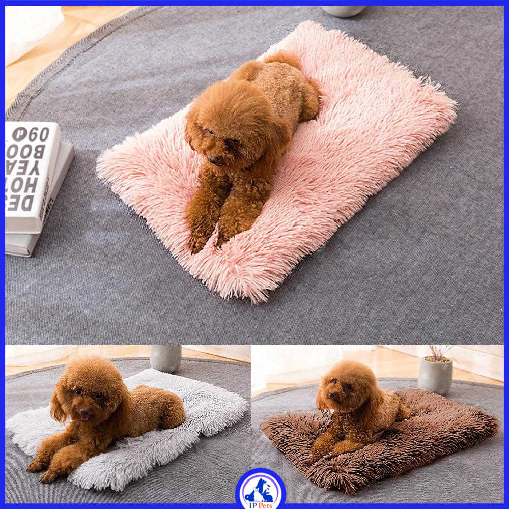 Soft wool mat bed for dog ippets