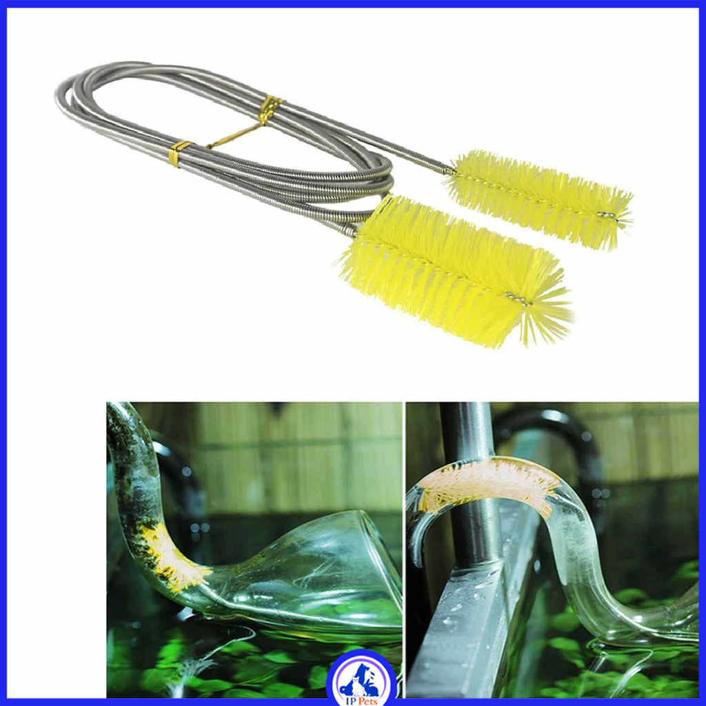 Water filter cleaning brush