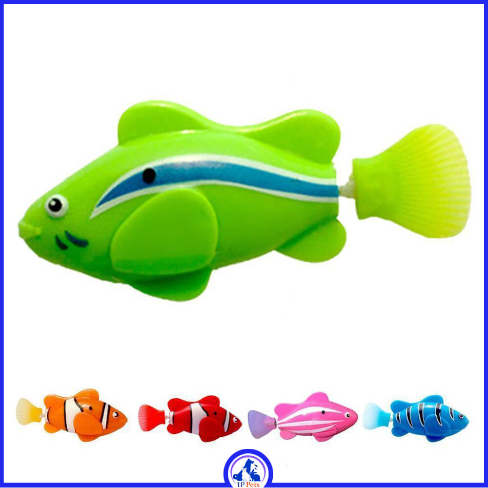 Electronic fish swimming robotic battery bath toy for kids like real fish
