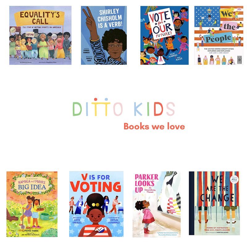Books celebrating diverse civic servants and change makers