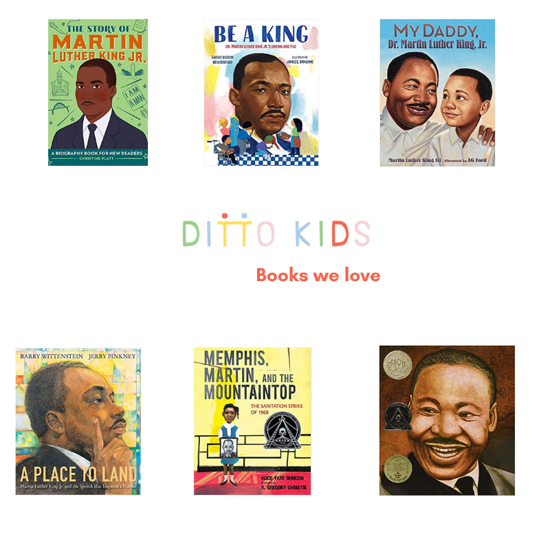 A roundup of six books that honor and celebrate Dr. King