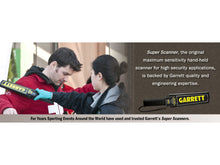 Load image into Gallery viewer, Garrett Super Scanner Metal Detector - Solomon Brothers Apparel