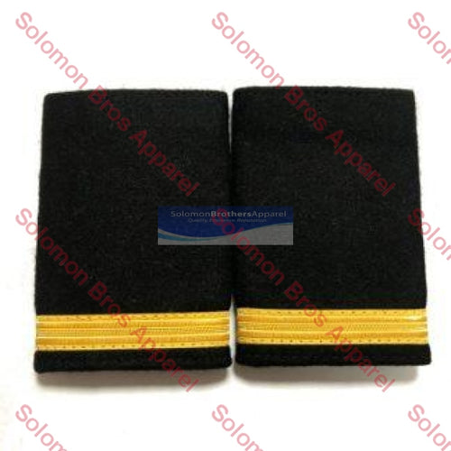 1 Bar Gold Lace Soft Epaulettes - Solomon Brothers Apparel