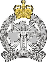 Australian Army Legal Corp Cap Badge - Solomon Brothers Apparel