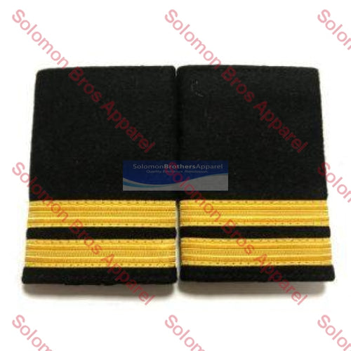 2 Bar Gold Lace Soft Epaulettes - Solomon Brothers Apparel