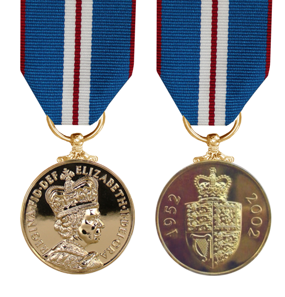 Golden Jubilee Medal 2002 EIIR - Solomon Brothers Apparel