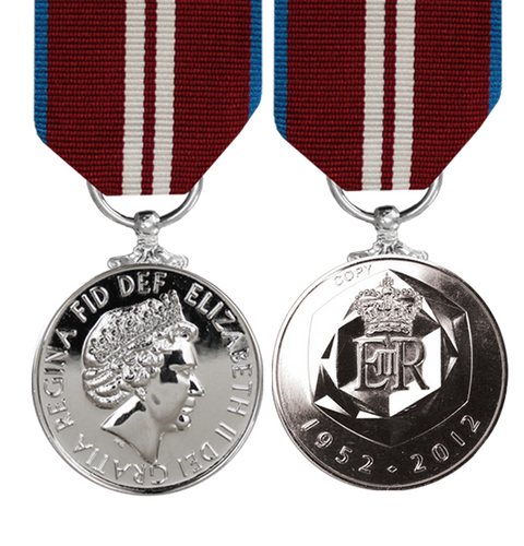 Diamond Jubilee Medal 2002 EIIR - Solomon Brothers Apparel