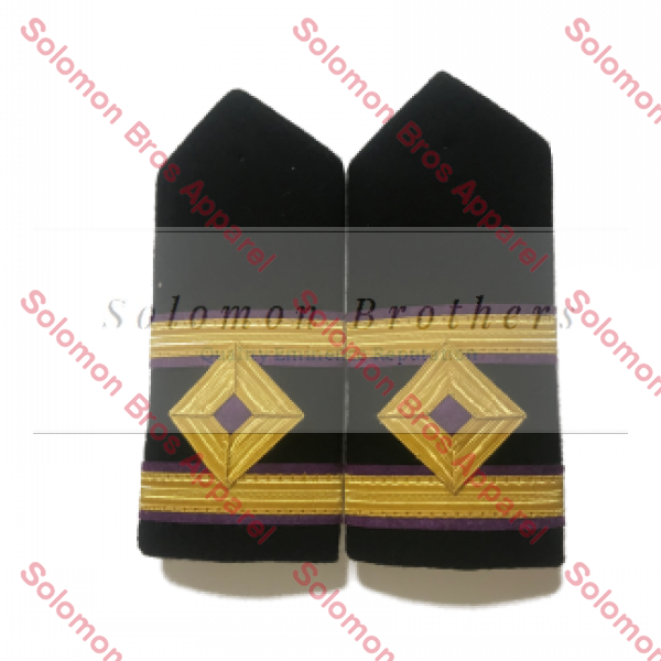 2nd Engineer Hard Epaulettes - Merchant Navy - Solomon Brothers Apparel