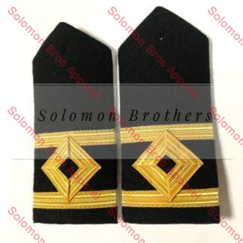 2nd Officer Hard Epaulettes - Merchant Navy - Solomon Brothers Apparel