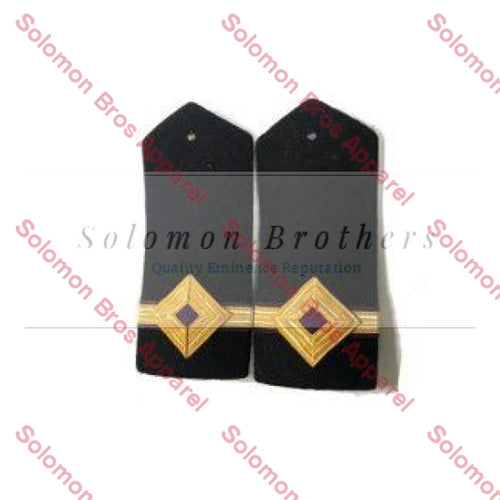 3rd Engineer Hard Epaulettes - Merchant Navy - Solomon Brothers Apparel