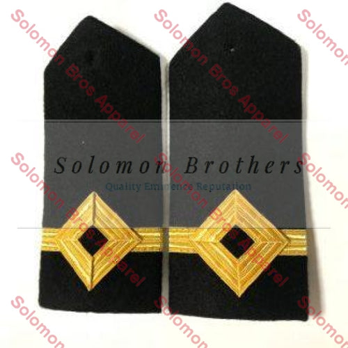 3rd Officer Hard Epaulettes - Merchant Navy - Solomon Brothers Apparel