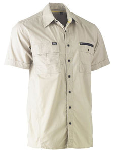 Bisley Flex & Move Utility Work Shirt - Short Sleeve - Solomon Brothers Apparel