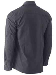 Bisley Flex & Move Stretch Shirt - Long Sleeve - Solomon Brothers Apparel