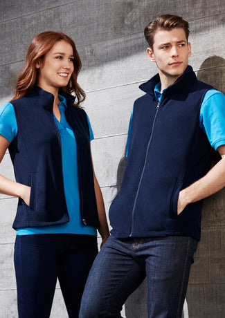Triad Ladies Full Zip Vest - Solomon Brothers Apparel