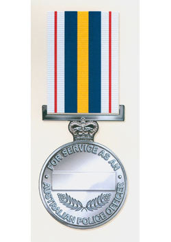National Police Service Medal - Solomon Brothers Apparel