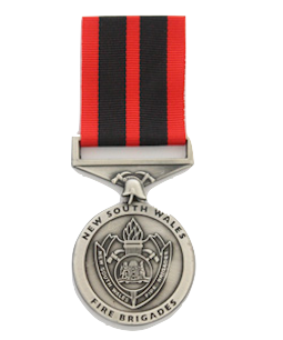 N.S.W. Fire Brigade Long Service Medal - Solomon Brothers Apparel