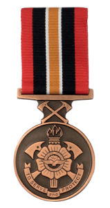 N.T. Fire and Rescue Medal - Solomon Brothers Apparel