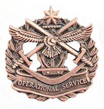Australian Operational Service Badge - Solomon Brothers Apparel