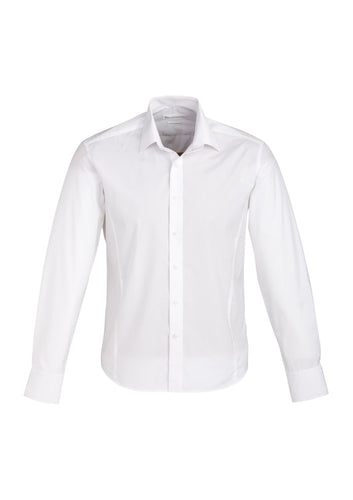 Munich Mens Long Sleeve Shirt White - Solomon Brothers Apparel